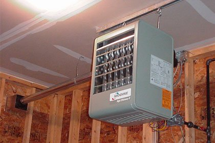 Garage Heater Installation And Repair Services J W