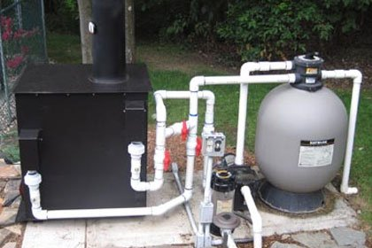 Pool Heater Installation Services In Edmonton J W Brian