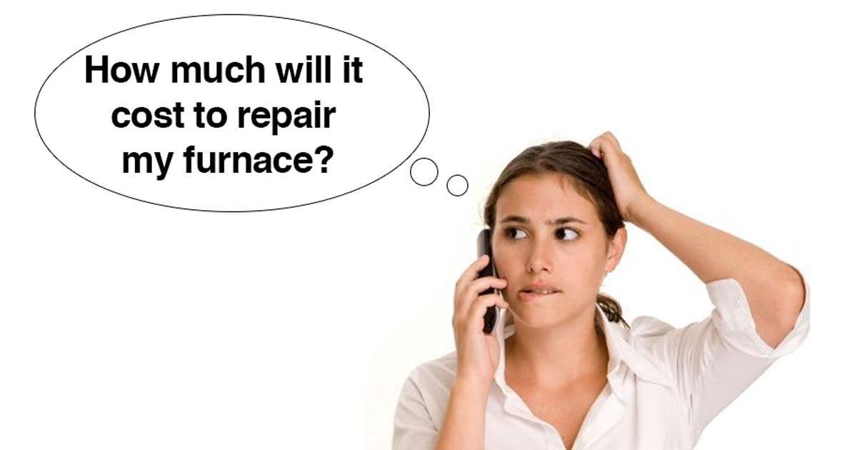 How Much Does It Cost To Repair A Furnace In Edmonton